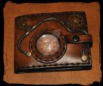 Steam Wallet 3steampunk leather wallet by Lagueuse