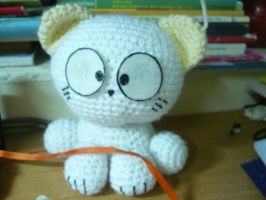 Crochet cat by KimHeeGrace