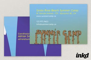 Youth Summer Camp Business by inkddesign