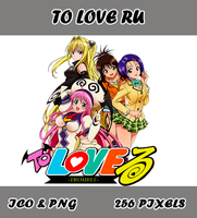 To Love Ru Anime Icon Myk by Myk-2103