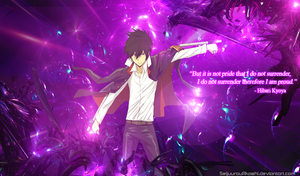 Hibari Kyoya Wallpaper by SeijuurouAkashi