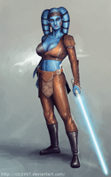 Aayla Secura by clc1997
