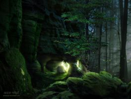 Emerald Woods by annewipf