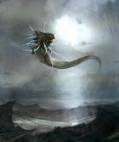 Midgard Serpent by Hieronymus7Z