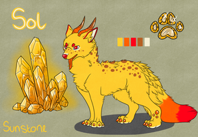 Pippin Sol - Reference Sheet by fluffyscarf