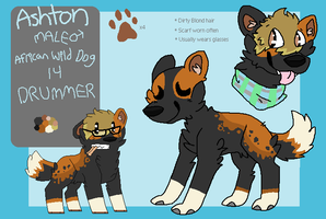 ashy refrence sheet by huskynugget