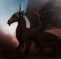 Dark Dragon by TelorLaeda