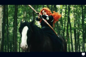 Angus and Merida by Scorpion-lair