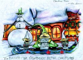 In Christmas Town by Dafca-dreams
