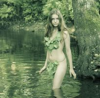 Jungle girl by ohlopkov