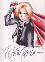 Edward Elric by hesxmyxinu