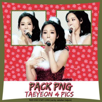[Pack PNG] Taeyeon For X-mas by nananahathai