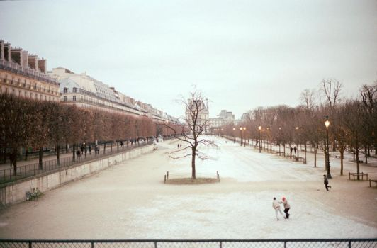 I'll be back in Paris in May. by un--expected