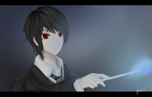 hello tom riddle by Ae-vi