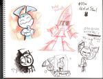 MlaaTR Doodle_Girl of Steal by Sukapon-ta