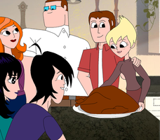 Thanksgiving at the Lunis house by Soundwave3591