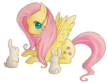 Fluttershy by Raidiance