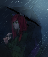 Under the rain by Girutea