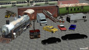 vehicles pack VTMB by HenryTaunsend