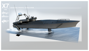 Type X7 Torpedo boat by Pixel-pencil