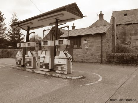 Old Petrol Station by themusicalnomad