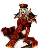 Sally Whitemane by FatKittyCat