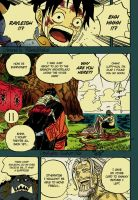 One piece chapter 591 by HikenxnoxAce