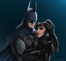 Batman's Protection by Antimad1