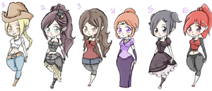 Adoptables ::CLOSED:: by XxElric-HimexX