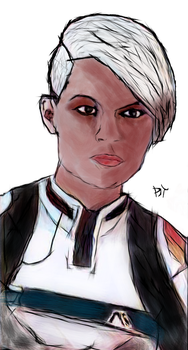 Cora Harper / Mass Effect Andromeda by DjTrecool