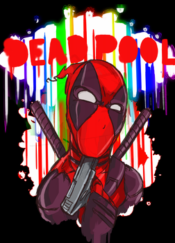 DEADPOOL by HiImThatGuy