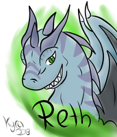 Reth the Dragon by CKittyKat98