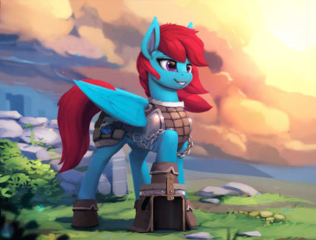 Wind Raider (Animated) by Rodrigues404