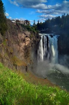 Snoqualmie Falls By Justin Mondry by JMondryPhotography