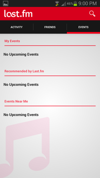 Last.fm Neu - My Profile - Events by lordms12