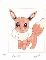 eevee by MarleneUrameshi