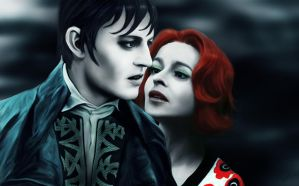 Barnabas and Julia by ecilARose