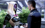 Tali and Shepard Wedding by lolSergio