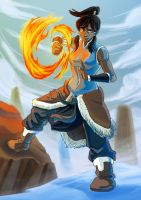 Korra the Legend by chicken-blast