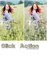 Click Action by touchingandkissing