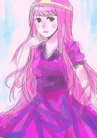 princess bubblegum. by Lirinu