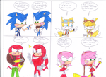 what if Sonic4Ever meets Sonic BOOM by sonic4ever760