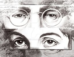 Beatles eyes II by GraphixRob
