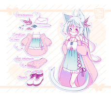 [CLOSED] ADOPT AUCTION - Love Letter by MiiaChuu