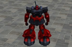 'UT2k4' MS-09RS Rick Dom C.A. Custom XPS ONLY!!! by lezisell