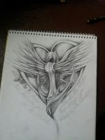 Quick Sketch of a tattoo by MagnaSicParvis