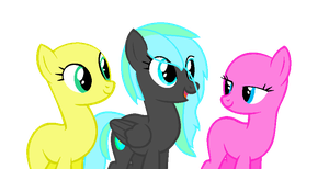 Collab with NeonStar by LillybugFanArtist