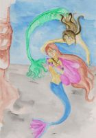 You Can No More Be A Mermaid by fireburner543