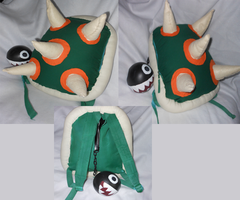 Bowser Backpack by FuzzyAliens