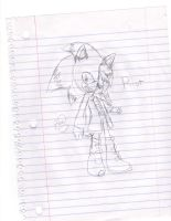 riot the fast hedge sketch by Twilight-Entropy